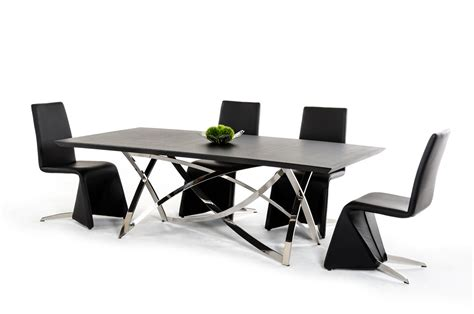 modern wenge dining table modrest labyrinth modern wenge dining table