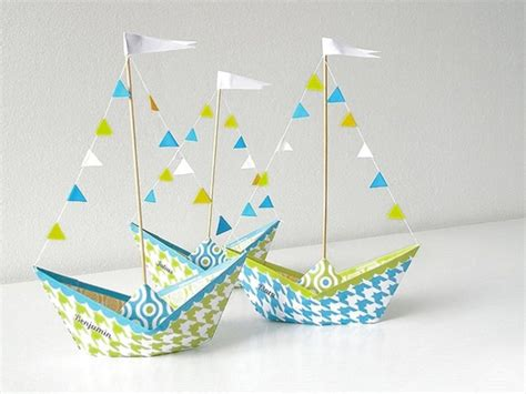 Paper Made Craft - handmade paper ship crafts paper origami guide