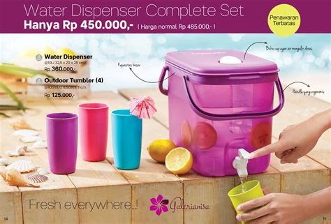 Dispenser Tupperware Ungu water dispenser tupperware tempat minum tupperware
