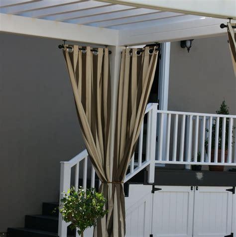 pergola with curtains pergola curtains landscape quest pinterest