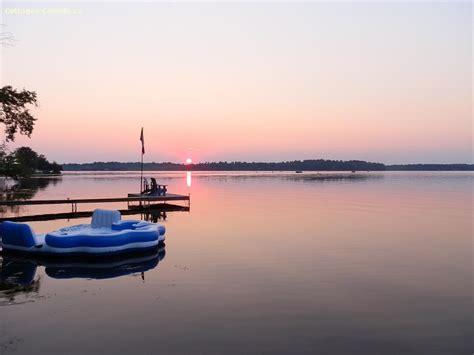 paddle boat rentals gravenhurst cottage rental ontario muskoka port severn sunset view