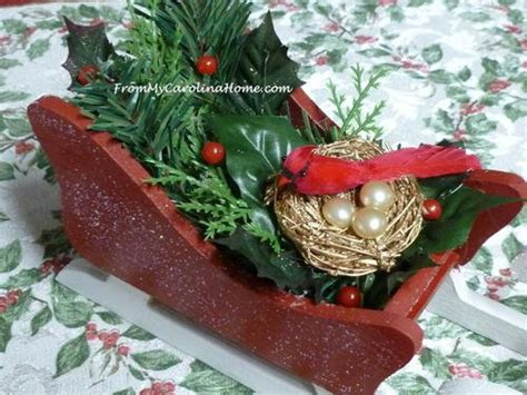 sleigh decor sleigh home decor allfreechristmascrafts