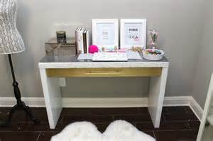 Makeup Desk Name White And Gold White And Gold Vanity