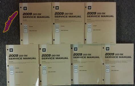 auto repair manual online 2009 gmc sierra user handbook 2009 chevrolet silverado gmc sierra shop manual service repair manual denali ck9 ebay