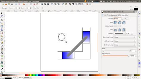 inkscape tutorial draw arrow inkscape free body diagram tutorial engineering graphics