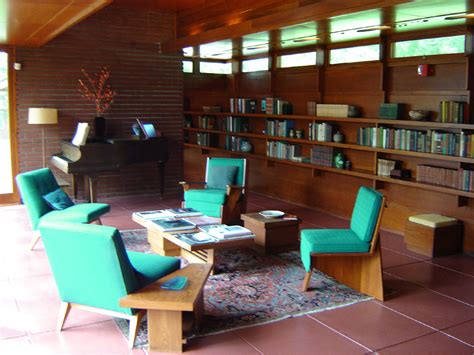 frank lloyd wright home interiors file wfm rosenbaum house interior jpg wikimedia commons