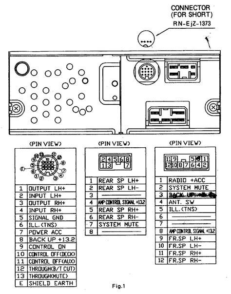 Car Audio Wire Diagram Codes Mazda - Factory Car Stereo