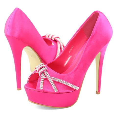 pink high heels shoes pink high heel shoes mad heel