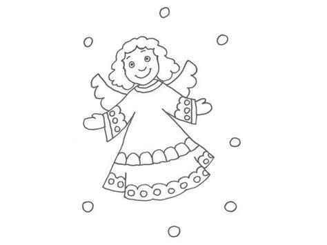 dibujos de navidad para colorear los niños imprimir dibujo de un 225 ngel de navidad para colorear con