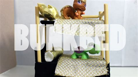 how to make a lps couch diy furniture how to make a lps bunk bed youtube