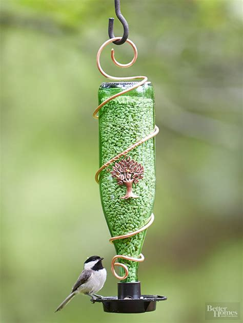 diy bottle bird feeders