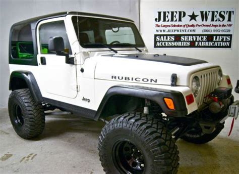 Buy Modified Jeep Find Used 2006 Jeep Wrangler Tj Rubicon Low