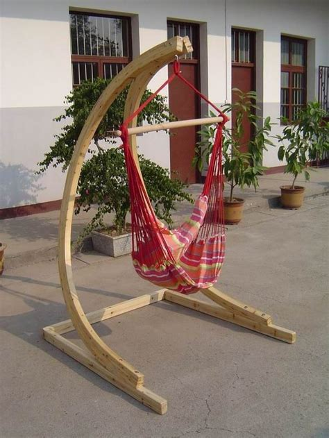 wooden hammock swing best 25 wooden hammock stand ideas on pinterest small