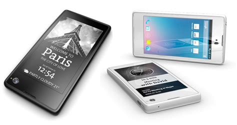 e ink display mobile phone dual screen phone offers e ink secondary display mobile