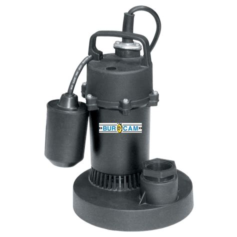 bur 1 4hp submersible sump the home depot canada