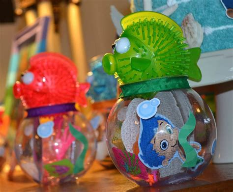 Guppies Fish Tank Decorations by Guppies Favor Kit Includes 10 Fish Bowls 10