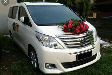Sale Rental Wedding Car Mobil Pengantin Alphard Car Rent mpv premium car jakartaweddingcar