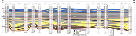 stratigraphic cross section stratigraphy depositional environments and coalbed