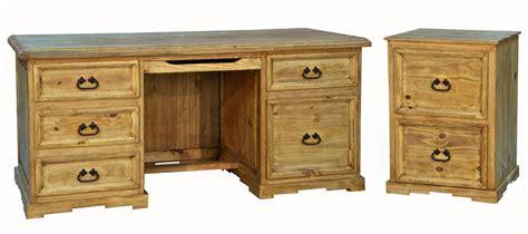 rustic executive desk file cabinet set executive desk