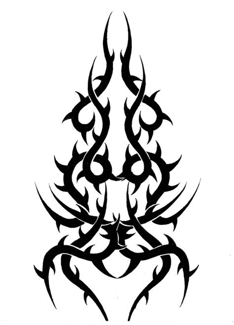tribal crown of thorns tattoo tribal by jakofheartz5870 on deviantart