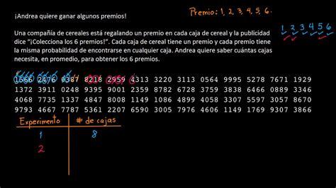 tabla de numeros aleatorios tabla de n 250 meros aleatorios para ejecutar un experimento