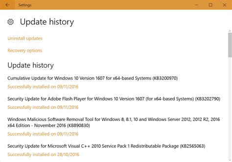 how to update how to keep track of your windows 10 update history