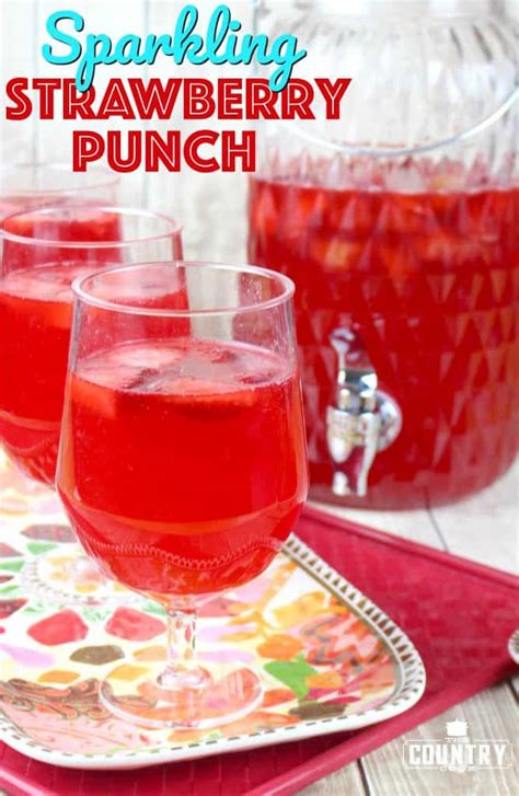sparkling celebration punch recipe non alcoholic strawberry punch alcoholic