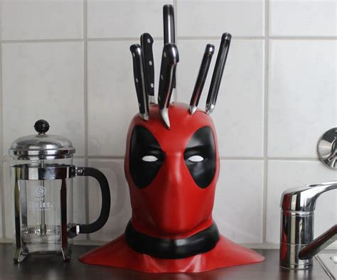 Deadpool Knife Block Only LOOKS Like It Demands Maximum