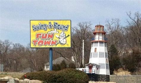 swing around fun town hours sign picture of swing a round fun town fenton tripadvisor