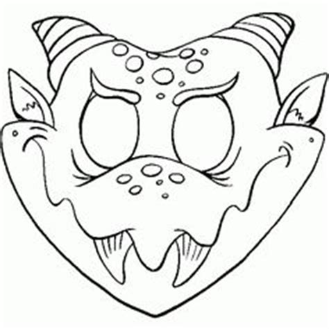 unicorn mask coloring page 1000 images about mystical magical creature party on