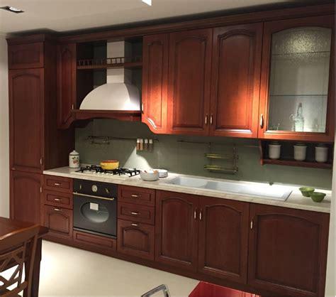 cucine usate scavolini cucina classica in legno lineare scavolini modello margot