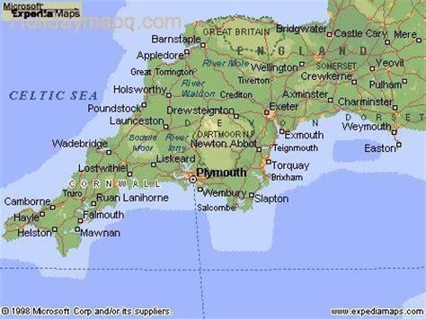 map uk cornwall 2015 map of with cornwall holidaymapq