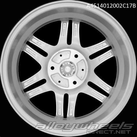 Smart Wheel Mono Wheel D 04 17 quot smart brabus mono vi wheels in silver polished surface alloy wheels direct 134987