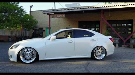 bagged lexus is250 2008 bagged lexus is250 in 4k short version youtube