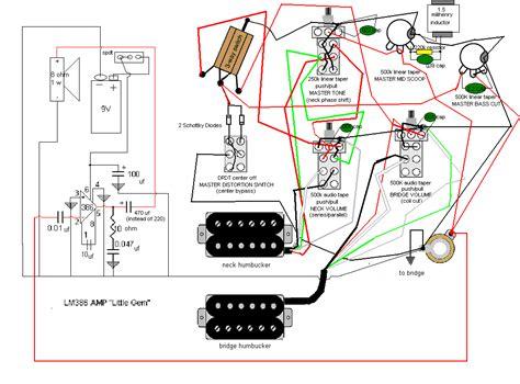 active guitar wiring schematics wiring diagram with