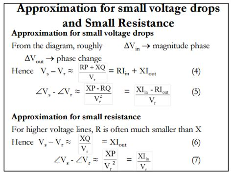 voltage drop on resistor formula power transmission lines voltage drop electrical engineering stack exchange