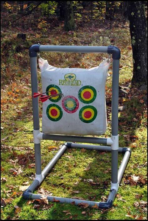 archery bow stand plans pvc archery target stand car tuning tir 224 l arc