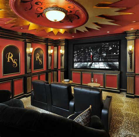 showroom theater traditional home theater houston