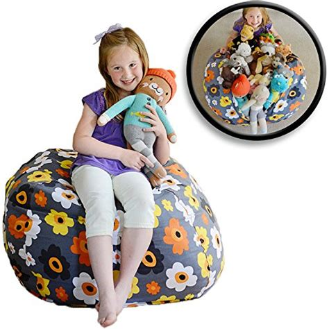 stuffed animal bean bag storage pattern creative qt large stuff n sit stuffed animal