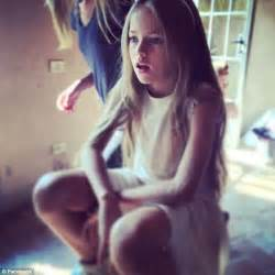 Rocking Horse For 1 Year Old Kristina Pimenova The Child Model Dubbed The Most