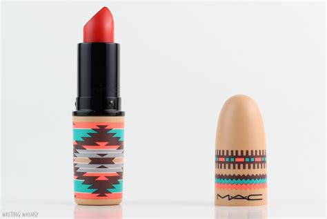 Mac Patentpolish Lip Pencil Vibe Tribe Collection Mac mac vibe tribe review swatches writing whimsy