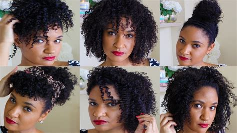 i want to see some natural hairstyles 7 quick and easy hairstyles for natural hair youtube