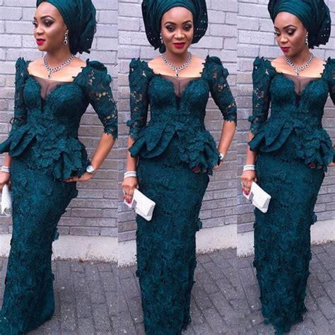 lace dress aso ebi style nigeria aliexpress com buy african lace evening dresses 2017