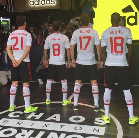 Jersey Manchester United 2015 2016 Away new manchester united away kit 15 16 white mufc jersey 2015 2016 football kit news new
