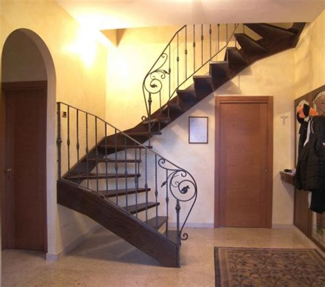 scalinate in legno per interni scale per interni fino mornasco