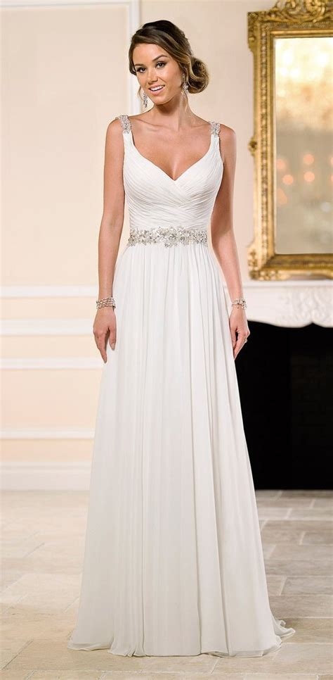 Brautkleider Shop by Best 25 Chiffon Wedding Dresses Ideas Only On