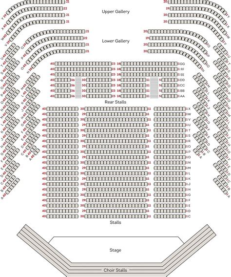 Music City Center Floor Plan by Perth Concert Hall Seating Map West Australian Symphony
