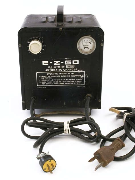 ez go golf cart charger 36 volt 36v ez go ezgo automatic charger by textron golf