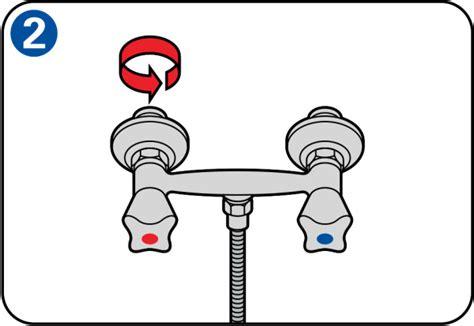 il rubinetto sostituire il rubinetto della doccia