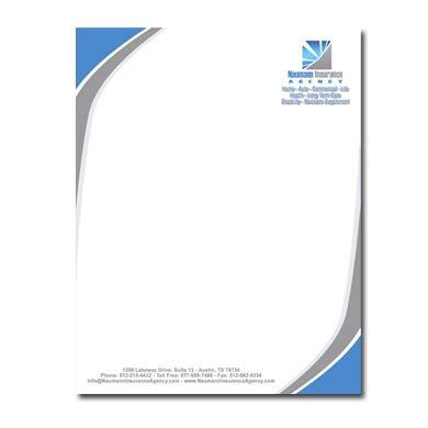 letterhead sle in word company letterhead template word template business